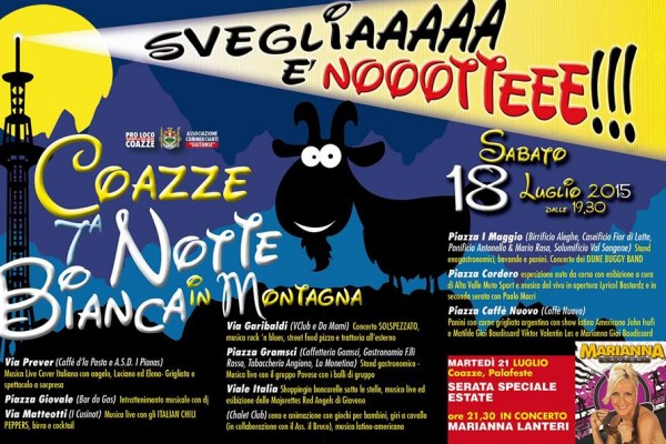 Coazze – 7a Notte Bianca in Montagna
