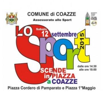 Lo Sport scende in piazza a Coazze