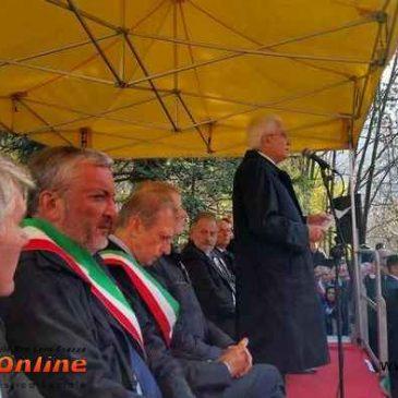 Sabato 31 ottobre – Visita del Presidente Mattarella
