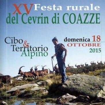 XV Festa rurale del Cevrin di COAZZE