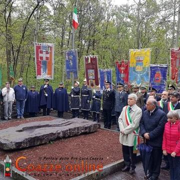 Commemorazione dei partigiani caduti