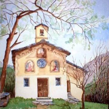 Mostra di acquerelli di Giorgetta Usseglio