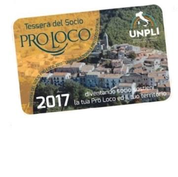 Tessera Pro Loco 2017