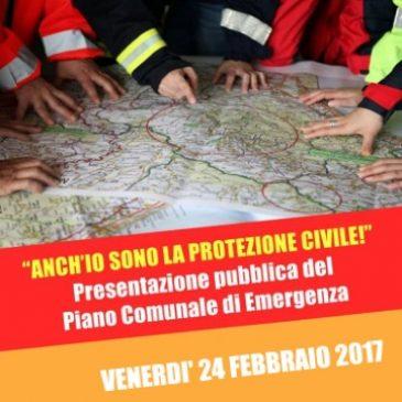 Venerdì 24 febbraio: Presentazione del Piano Comunale d'Emergenza