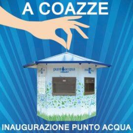 Venerdì 24 febbraio: Inaugurazione Punto Acqua