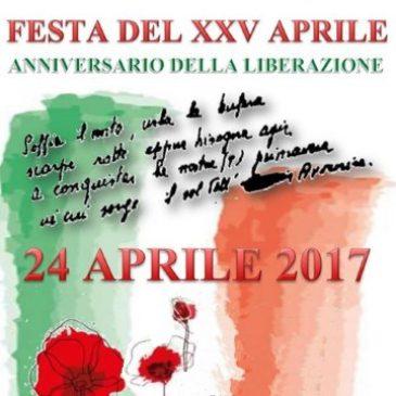 Lunedì 24 aprile: Anniversario della Liberazione