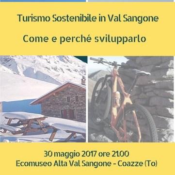 Martedì 30 maggio: Turismo sostenibile in Val Sangone