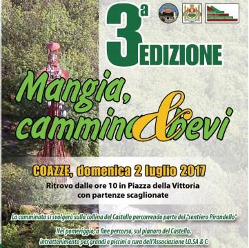 Domenica 2 luglio: Mangia Cammina & Bevi