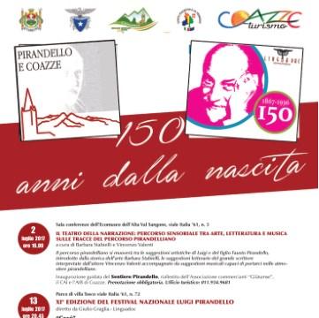 Domenica 2 luglio: Inaugurazione Sentiero Pirandello rinnovato