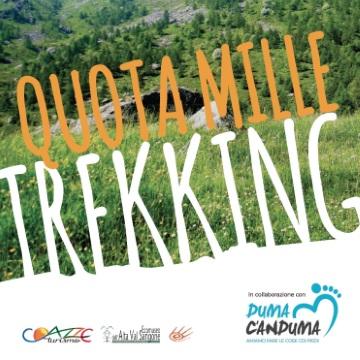 Da sabato 24 a mercoledì 28 giugno: Escursione sentiero Quota1000