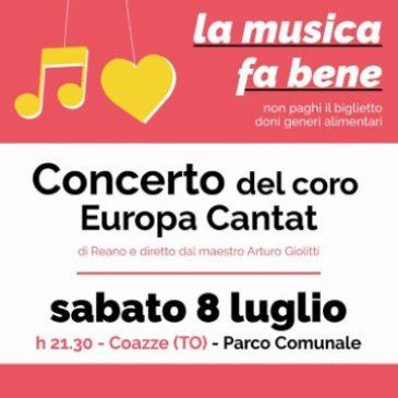 """Sabato 8 luglio: Concerto coro """"Europa Cantat"""""""