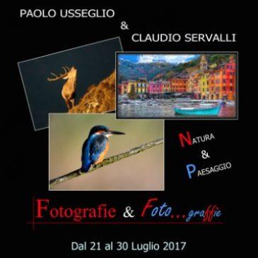 """Venerdì 21 luglio: Inaugurazione mostra fotografica """"Fotografie e foto… graffie"""""""