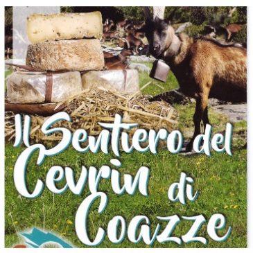 """""""Il sentiero del Cevrin di Coazze"""": cartina in distribuzione"""