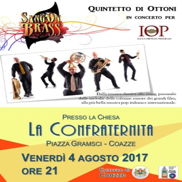SangOnBrass: CONCERTO Quintetto di Ottoni per IOP