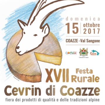 Domenica 15 ottobre: XVII Festa Rurale del Cevrin di Coazze