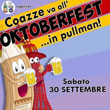 Sabato 30 settembre: Coazze va all'Oktoberfest… in pullman!