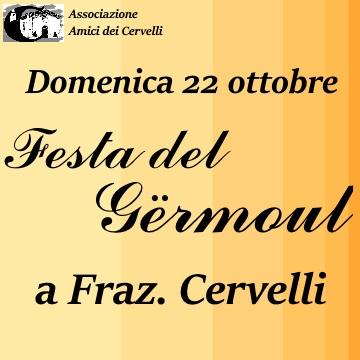 Domenica 22 ottobre: Festa del Gërmoul