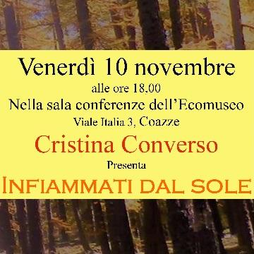 """Venerdì 10 novembre: """"Infiammati dal sole"""""""