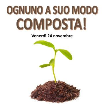 Venerdì 24 novembre: Corso pubblico di compostaggio